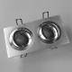 LH11821 Rechthoekig aluminium armatuur voor 2 x MR16