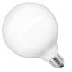 G125 dimbare sier-bollamp - filament - warm white - 2600K