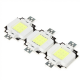 EPISTAR COB LED 10 Watt -  Cool white- 9-11V