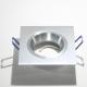 LH10303 Vierkant aluminium armatuur voor 1 x MR16