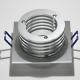 LH1128-M9 Rond aluminium niet richtbaar armatuur voor 1 x MR16