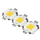 EPISTAR COB LED 10 Watt - warm white - 9-11V